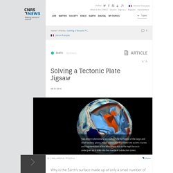 Solving a Tectonic Plate Jigsaw