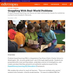Solving Real-World Issues Through Problem-Based Learning
