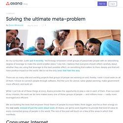 Solving the ultimate meta-problem