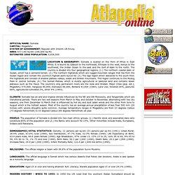 Somalia - Atlapedia Online
