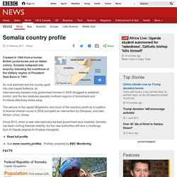Somalia profile - Overview