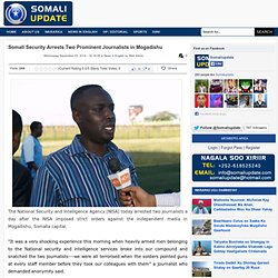 Independent Somali News Organization, Serving For Transparency And Fair Society.