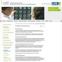 Somatische Therapieverfahren - LVR-Klinikum Düsseldorf