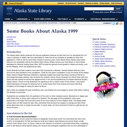 Some Books About Alaska
