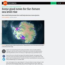 Some good news for far-future sea level rise