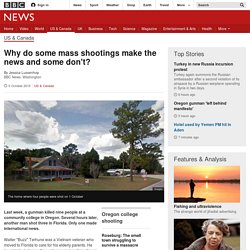 Why do some mass shootings make the news and some don't? - BBC News