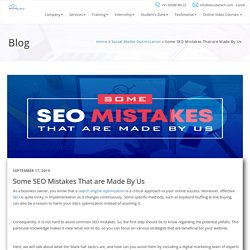 Few Most Common SEO Mistakes To Avoid