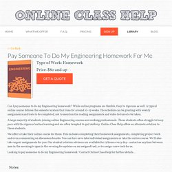 Pay Someone To Do My Engineering Homework