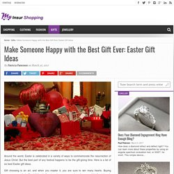 Make Someone Happy with the Best Gift Ever: Easter Gift Ideas – My Insur Shopping