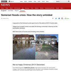 Somerset floods crisis: How the story unfolded