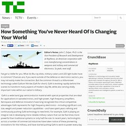 How Something You've Never Heard Of Is Changing Your World