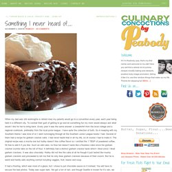 Something I never heard of.... - Culinary Concoctions by Peabody