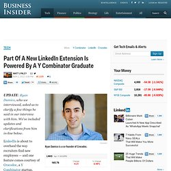 LinkedIn: Great New Feature Thanks To These 20-Something Entrepreneurs