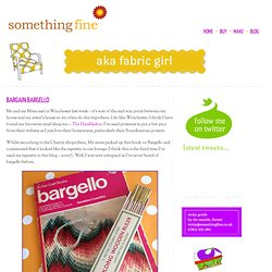 BARGAIN BARGELLO | Something FineSomething Fine