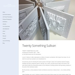 Twenty Something Sullivan