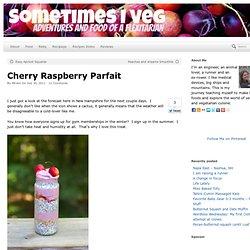 Cherry Raspberry Parfait