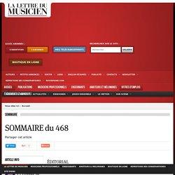 SOMMAIRE du 468