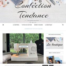 Sommaire des tutos de couture - Confection Tendance
