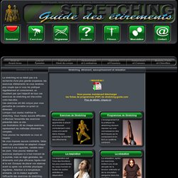 Sommaire des Exercices de stretching