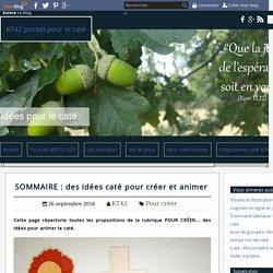 SOMMAIRE : des idées caté pour créer et animer - KT42 portail pour le caté