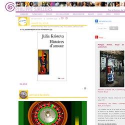 www.pileface.com. Blog sur Philippe Sollers - pièces à convictio