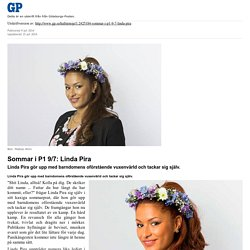 Sommar i P1 9/7: Linda Pira - Kultur & Nöje - Göteborgs-Posten