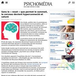 Sans le «reset» que permet le sommeil, le cerveau devient hyperconnecté et saturé