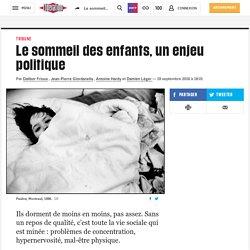 Le sommeil des enfants, unenjeu politique