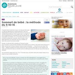 Sommeil de bébé : la méthode du 5-10-15 - Page 2 - Santé - Enfant - Sommeil