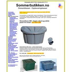 Sommerbutikken.no - Strøsandkasser av høy kvalitet
