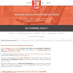 Formation Développeur WEB en 3 mois