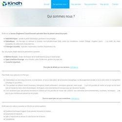 Qui sommes nous ? – Kindh - Ingénierie Conseil