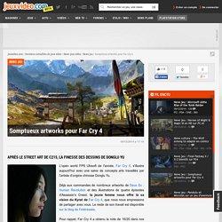 Somptueux artworks pour Far Cry 4 - Actualités - jeuxvideo.com