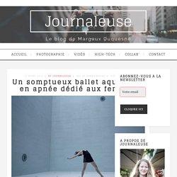 Un somptueux ballet aquatique en apnée dédié aux femmes - Journaleuse