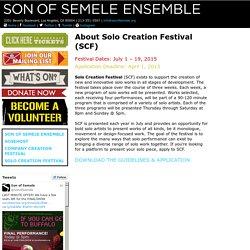 Son of Semele Ensemble