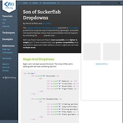 Son of Suckerfish Dropdowns