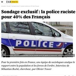 Sondage exclusif : la police raciste pour 40% des Français - 25 mai 2011