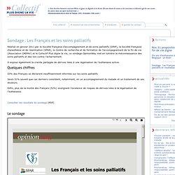 Sondage : Les Français et les soins palliatifs