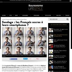 Sondage : les Français accros à leurs smartphones ?