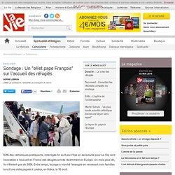 """Sondage : Un """"effet pape François"""" sur l'accueil des réfugiés"""