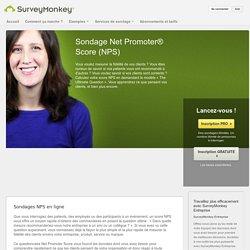 Sondage Net Promoter® Score (NPS)