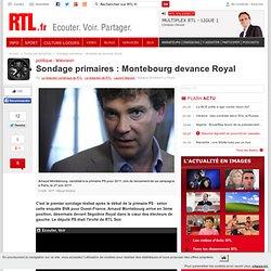 Sondage primaires : Montebourg devance Royal