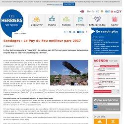 Sondages : Le Puy du Fou meilleur parc 2017