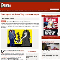 Sondages : Opinion Way contre-attaque