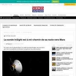 La sonde InSight est à mi-chemin de sa route vers Mars