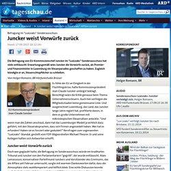 """Befragung im """"LuxLeaks""""-Sonderausschuss: Juncker weist Vorwürfe zurück"""