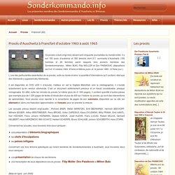 Sonderkommando - Francfort (63)