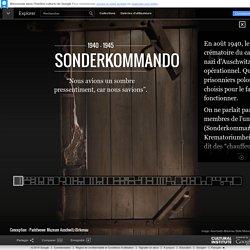 Sonderkommando – Google Cultural Institute