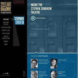 Inside the Stephen Sondheim Theater