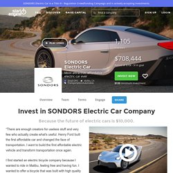 SONDORS Electric Car